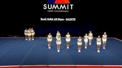 Rock Solid All Stars - SAINTS [2021 L2 Senior - Small Wild Card] 2021 The Summit