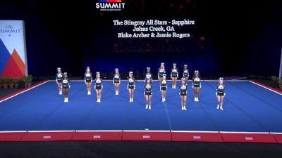 The Stingray All Stars - Sapphire [2021 L4 Senior - Small Semis] 2021 The Summit
