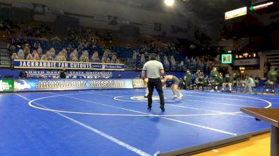 141 lbs Dylan Droegemueller, NDSU) vs Nicholas Rino, Utah Valley