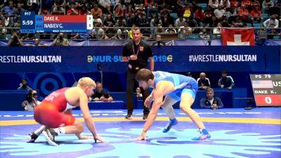 79kg Quarterfinal Kyle DAKE (USA) v. G. NABIEV (RUS)