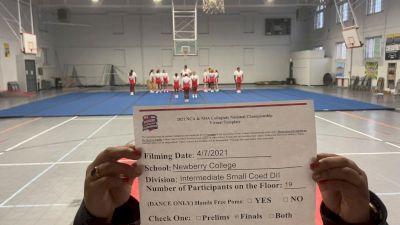 Newberry College [Virtual Intermediate Small Coed Division II Finals] 2021 NCA & NDA Collegiate Cheer & Dance Championship
