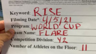 World Cup - Flare [L2 Youth - Small] 2021 The Regional Summit Virtual Championships