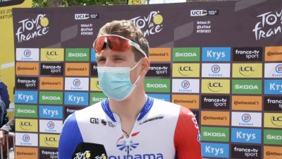 Arnaud Démare: A Sprint Favorite For The Finish Of Stage 3 (FRENCH)