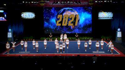 The Stingray Allstars - Marietta - Lavender [2021 L6 International Open All Girl Finals] 2021 The Cheerleading Worlds