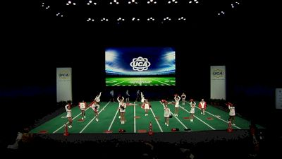 Bay High School [2021 Small Non Tumbling Game Day Semis] 2021 UCA National High School Cheerleading Championship