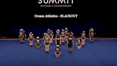 Dream Athletics - BLACKOUT [2021 L4.2 Senior Coed - Small Semis] 2021 The D2 Summit