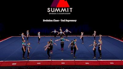 Evolution Cheer - Teal Supremacy [2021 L1 Junior - Small Semis] 2021 The D2 Summit