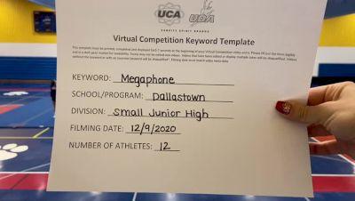 Dallastown High School [Small JH] 2020 UCA Pocono Virtual Regional