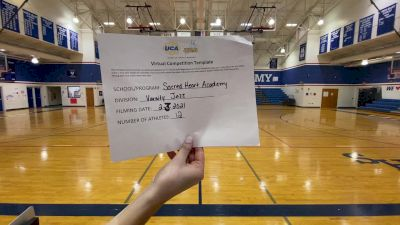 Sacred Heart Academy [Medium Varsity Jazz] 2021 UDA South Spring Virtual Dance Challenge