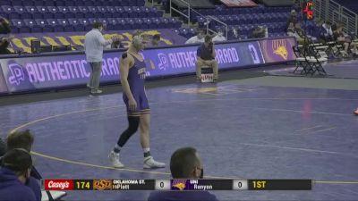 174 lbs - Dustin Plott, Oklahoma State vs Lance Runyon, UNI