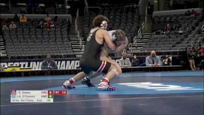 149 final, Austin O'Connor, UNC vs Sammy Sasso, Ohio State