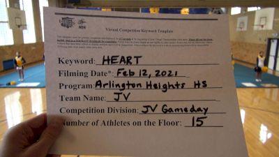 Arlington Heights High School [Game Day JV] 2021 NCA & NDA Virtual February Championship