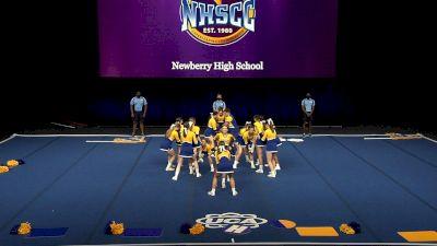 Newberry High School [2021 Large Coed Non Tumbling Finals] 2021 UCA National High School Cheerleading Championship