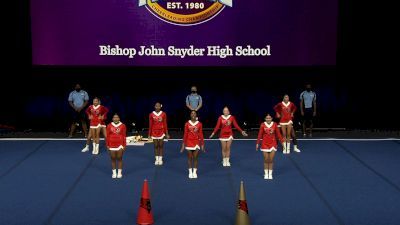 Bishop John Snyder High School [2021 Small Coed Non Tumbling Semis] 2021 UCA National High School Cheerleading Championship