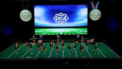Ruckel Middle School [2021 Small Junior High Game Day Semis] 2021 UCA National High School Cheerleading Championship