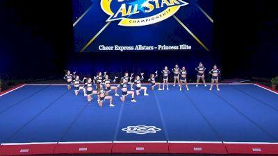 Cheer Express Allstars - Princess Elite [2021 L1 Senior Day 2] 2021 UCA International All Star Championship