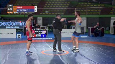 79 kg David Vincent MCFADDEN, USA vs - Ramazan Ishak SARI, TUR