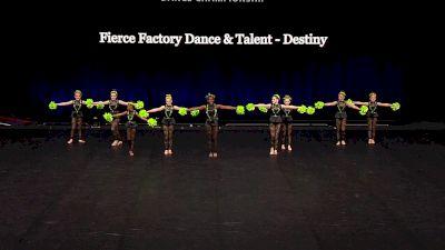Fierce Factory Dance & Talent - Destiny [2021 Youth Pom - Small Semis] 2021 The Dance Summit