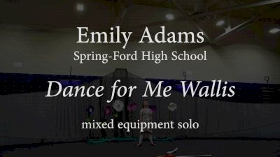 Emily Adams - Dance For Me Wallis
