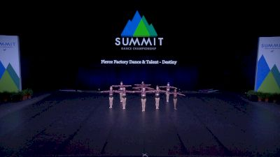 Fierce Factory Dance & Talent - Destiny [2021 Youth Contemporary / Lyrical - Small Semis] 2021 The Dance Summit