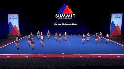 Elite Heat All-Stars - 4.Fierce [2021 L4.2 Senior - Small Wild Card] 2021 The Summit