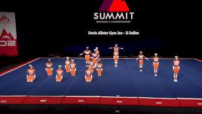 Davis Allstar Gym Inc - X-ladies [2021 L2 Junior - Small Finals] 2021 The D2 Summit