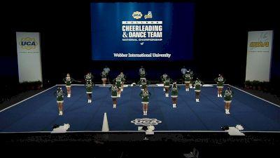 Webber International University [2021 Open All Girl Finals] 2021 UCA & UDA College Cheerleading & Dance Team National Championship