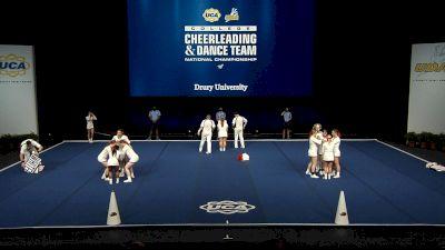 Drury University [2021 Small Coed Division I Finals] 2021 UCA & UDA College Cheerleading & Dance Team National Championship