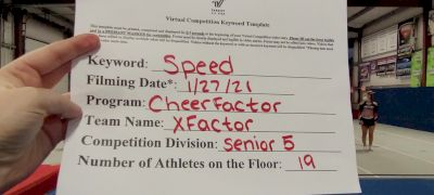 Cheer Factor - XFACTOR [L5 Senior] 2021 Varsity All Star Winter Virtual Competition Series: Event I