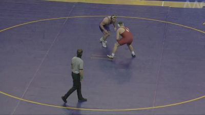 285 lbs - Carter Isley, UNI vs Josh Heindselman, Oklahoma