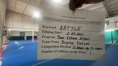 Cheer Extreme - Brynley_Dodson - Finals [Junior Athlete] 2021 Battle In The Arena
