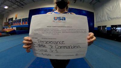 The California All Stars - Mesa - Jr. Commanders [L1 Junior] 2021 USA All Star Virtual Championships