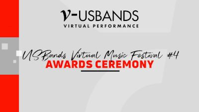 RESULTS: 2021 USBands Virtual Music Festival Series 4 Awards Ceremony