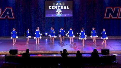 Lake Central High School [2021 Medium Varsity Pom Finals] 2021 NDA High School National Championship
