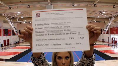 University of Tampa [Virtual Intermediate All-Girl Division II Prelims] 2021 NCA & NDA Collegiate Cheer & Dance Championship