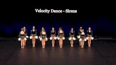 Velocity Dance - Sirens [2021 Junior Pom Semis] 2021 The Dance Summit