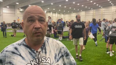 Tony  Cook Was Proud Of Oklahoma's Effort At 16U Greco Duals