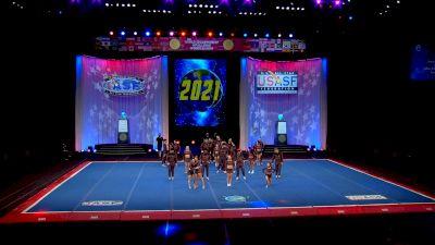 Steele Athletics - Slate [2021 L7 International Open Large Coed Finals] 2021 The Cheerleading Worlds