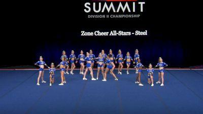 Zone Cheer All-Stars - Steel [2021 L2 Senior - Small Finals] 2021 The D2 Summit