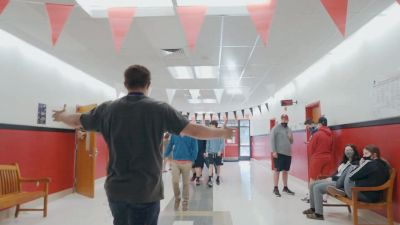 Jacob Couch Visits His Old Kentucky High School