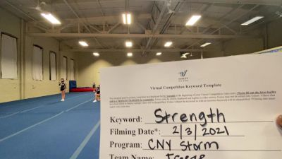 CNY Storm All Stars - Freeze - Freeze [L1 Youth - Non-Building] 2021 Varsity All Star Winter Virtual Competition Series: Event II