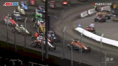 Highlights | USAC Sprints Sunday at Huset's Speedway