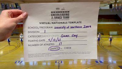 University of Northern Iowa [Virtual Division I Game Day - Dance Semi Finals] 2021 UCA & UDA College Cheerleading & Dance Team National Championship