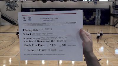Mill Valley Silver Stars [Varsity - Game Day - Medium Virtual Finals] 2021 NDA High School National Championship