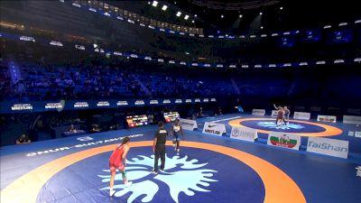 68 kg Semifinal A. SCHELL (GER) v. Tamyra MENSAH (USA)