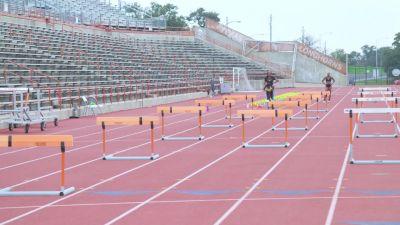 Coach Flo Focusing On Keni Harrison's Trail Leg In Practice