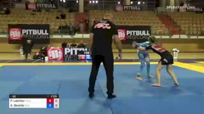 Peyton Letcher vs Ashley Bendle 1st ADCC European, Middle East & African Trial 2021