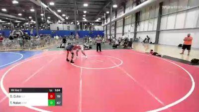 125 lbs Rr Rnd 3 - Dayvien Cuba, Elite Athletic Club vs Tyler Nolan, Xtreme Training