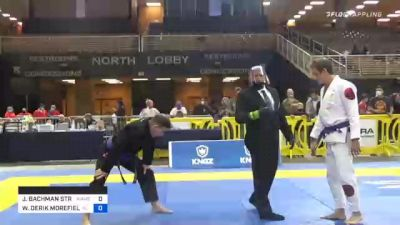 WILLIAM DERIK MOREFIELD vs JEFFREY BACHMAN STRAIN 2020 World Master IBJJF Jiu-Jitsu Championship