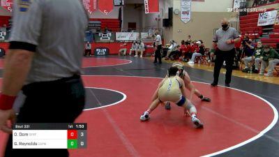 113 lbs Semifinal - Ortlip, Dom, Spring-Ford vs Gavin Reynolds, Central Dauphin